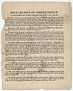 [Declaration of Independence front 1]