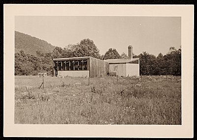 Pottery shop at Black Mountain College
