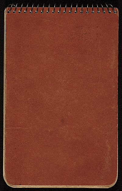 [Robert Turner illustrated travel diary of the United States]