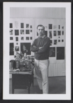 Stanley Twardowicz in his Northport, Long Island studio