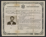 Jack Tworkovs certificate of citizenship