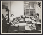 Paul Vanderbilt and other staff at work