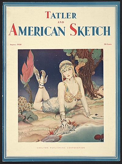 Cover of Tatler and American Sketch magazine