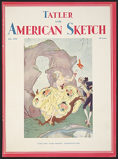 [Cover of Tatler and American Sketch magazine]