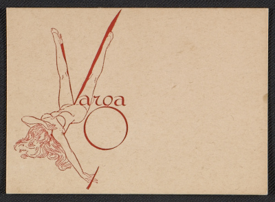 Alberto Vargas business card