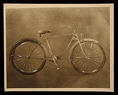 Bicycle design by John Vassos