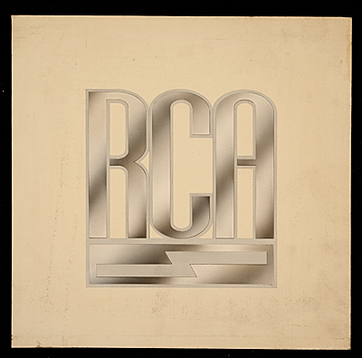 Radio Corporation of America logo designed by John Vassos