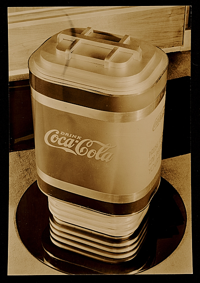 [Soda dispenser designed for Coca-cola company by John Vassos]