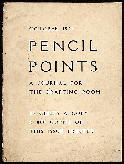 Pencil points, a journal for the drafting room