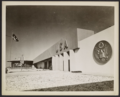[US Pavilion at the World's Fair]