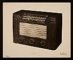 Bakelite radio designed by John Vassos
