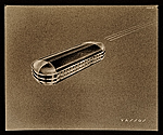 Harmonica design drawing by John Vassos