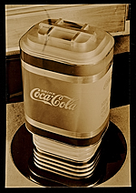[Soda dispenser designed for Coca-cola company by John Vassos ]