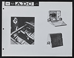 [Concept sketches for the Advanced Design Center at the Radio Corporation of America page 11]