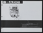 [Concept sketches for the Advanced Design Center at the Radio Corporation of America page 12]