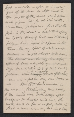 [A letter from Elihu Vedder to