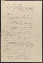 [Elihu Vedder list of works sold since the year 1856 2]