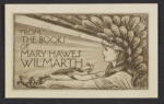 Bookplate for Mary Hawes Wilmarth