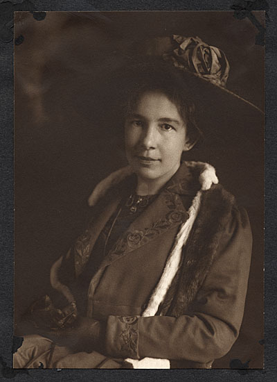 [Portrait of Bessie Potter Vonnoh]