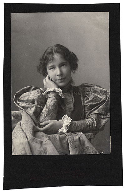 Bessie Potter Vonnoh as a young girl