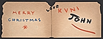 [John von Wicht holiday card to unidentified recipient inside 1]