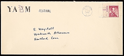 envelope from the Yam Festival