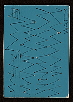 Richard Tuttle mail art to Samuel J. Wagstaff