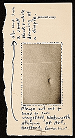 [Ray Johnson, New York, N.Y. mail art to Samuel J. Wagstaff, Hartford, Conn. ]