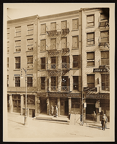 Currier & Ives building, 33 Spruce Street, New York, N.Y.