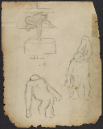 Study sketches of John Daniel II