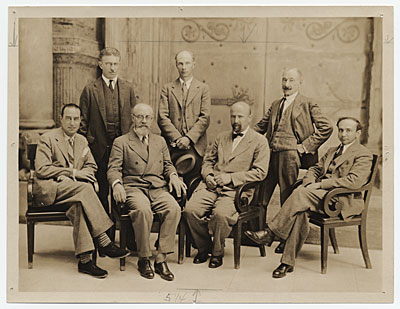 [Group portrait of the Carnegie International Jury of  Awards]