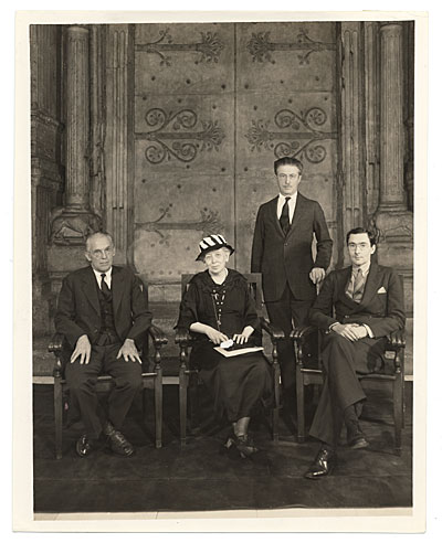 [Jury of Award for 1934 Carnegie Institute International]