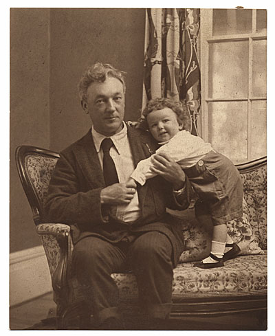 William Glackens and his daughter Lenna