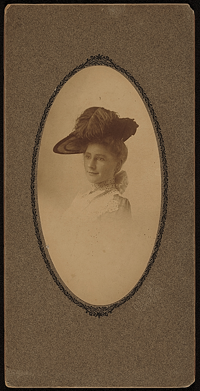 Mrs. Edwin Ambrose Webster nee Georgianna Rodgers
