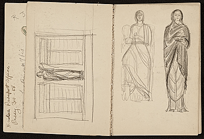 Edwin Ambrose Webster sketchbook of travels in Europe