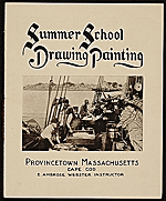 Edwin Ambrose Webster summer art school brochure