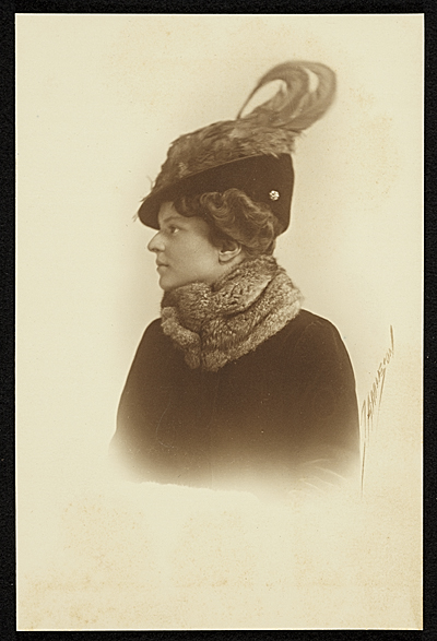 [Katharine Lane Weems profile portrait]