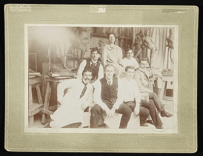 Adolph Weinman and Charles Keck with others