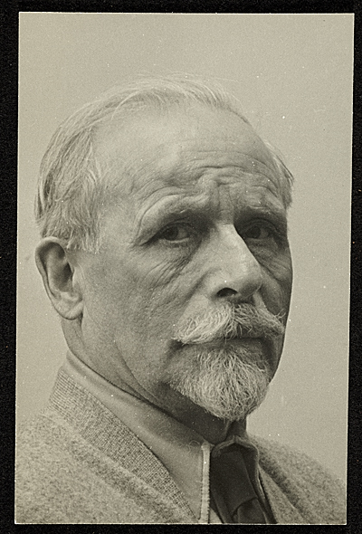 Portrait of Adolph Weinman