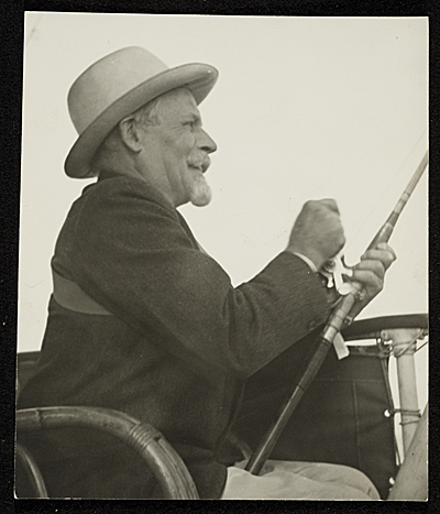 Adolph Weinman fishing