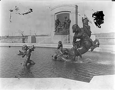 Fountain of the Centaurs (Western side), Jefferson City, Missouri