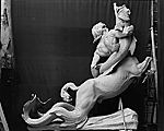 Model for one of the centaurs in the Fountain of the Centaurs