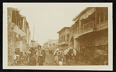 [The side streets of Baghdad, Persia]