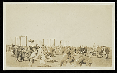 [Syrian orphan children at play, Bagdad, Persia]