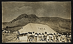 A convalescent and YMCA camp for survivors, Baghdad, Persia