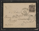 [James McNeill Whistler letter to Herbert Charles Pollitt envelope ]