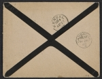 [James McNeill Whistler letter to Herbert Charles Pollitt envelope verso 1]