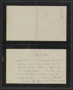 James McNeill Whistler letter to Herbert Charles Pollitt