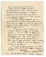 [James McNeill Whistler to C. B.  Bigelow. page 2]