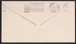 [Jacqueline Kennedy letter to Robert W. White envelope verso 1]